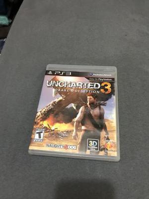 Uncharted 3, ps3 - mídia física