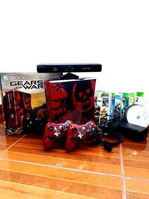 Xbox 360 edição limitada destravado lt 3.0 + kinect + 2