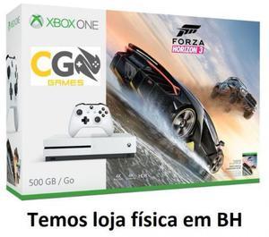 Xbox one s novo e lacrado na caixa com garantia aceitamos