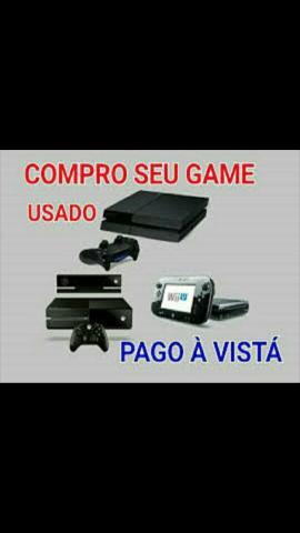 Xbox com jogos c.o.m.p.r.o