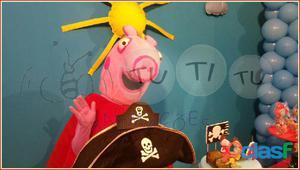 Peppa pig e george pig para festa infantes e eventos bh e região