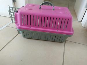 Caixa de transporte para gatos e cães pequenos