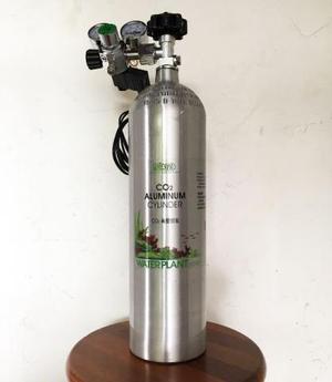 Cilindro de co2 com válvula para aquários plantados