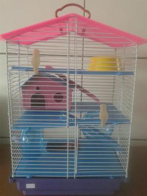 Gaiolas hamster nova