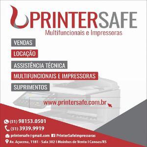 Impressoras e multifuncionais