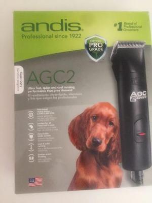 Máquina de tosar andis pet corta pelo de cachorro agc2 110v