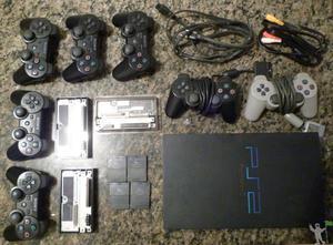Playstation 2 fat 50001 desbloqueado aceito troca