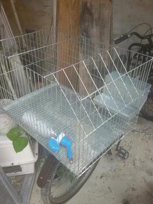 Vendo gaiola para coelho super nova