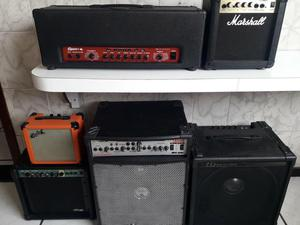 Amplificador de guitarra e baixo barato