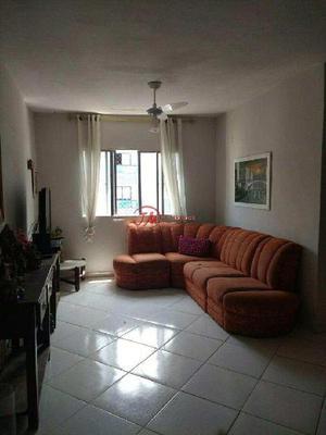 Apartamento com 2 dorms, ocian, praia grande - r$