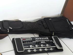 Bag ou pedaleira para guitarra