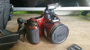 Camera semi profissional nikon coolpix l820