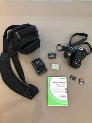 Câmera canon sx50 hs semi nova