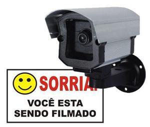 Câmeras de segurança falsa