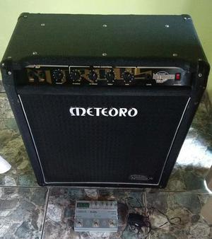 Cubo meteoro nitrous 150b + pedal tri efx bass