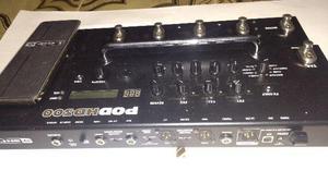 Pod hd300 line6 - pedaleira pro