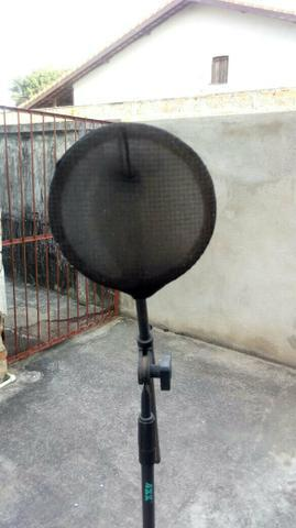 Tripé para microfone profissional