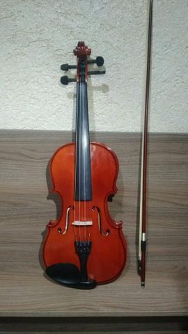 Violino concert cv 4/4 - com estojo e arco