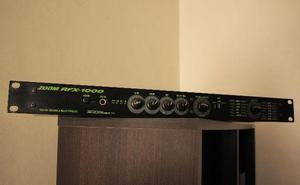 Zoom rfx-1000 digital reverb