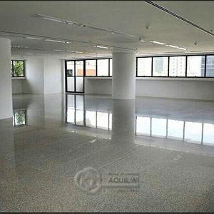 Laje comercial para locação c/ 280 m² liberdade