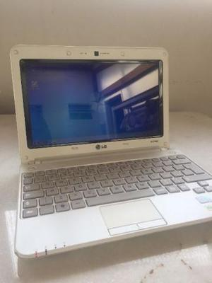 Netbook lg com 2gb memória / 320 hd / bateria boa