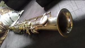 Raro sax soprano couesnon (feira universal de paris de 1889)