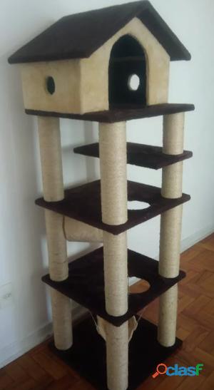 Casa de gato 4 andares