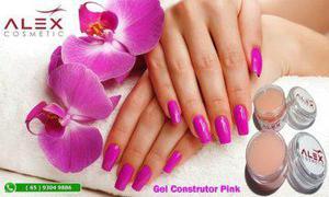 Gel construtor o melhor natural pink rosa nao bom mais usado