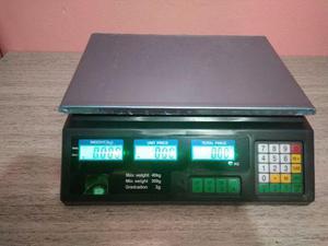 Balança digital 40kg marca scale 208