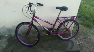 Bicicleta aro 24 com marcha