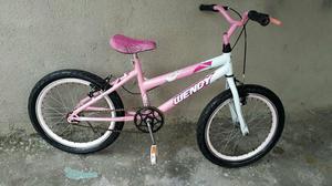 Bicicleta aro 20 wendy folha aero semi nova