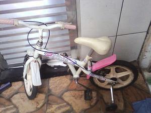 Bicicleta semi nova imfantil,aro 16,entrego estaçoes de