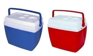 Caixa térmica cooler invicta 34 litros vermelha