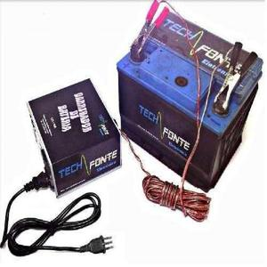 Carregador de bateria 10a 12v carregador bateria automotivo