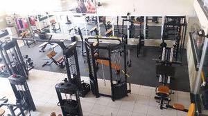Equipamentos riguetto academia completa novos