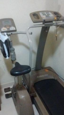 Esteira athletic 2 + bicicleta ergometrica athletic 2