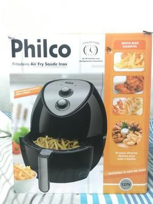 Fritadeira philco air fry inox