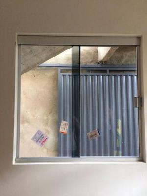 Kit com 5 janelas 1x1,20 blindex completas