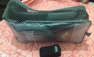 Luva muay thai everlast + bandagem+ protetor bucal