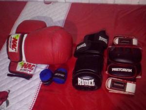 Luvas: boxe e mma kit completo