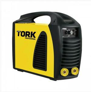 Maquina solda inversora 200 bivolt tork na caixa