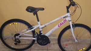 Vendo bicicleta caloi semi nova