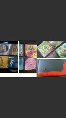 12 cds originais mais e case incluso