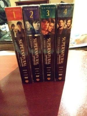 4 primeiras temporadas de supernatural