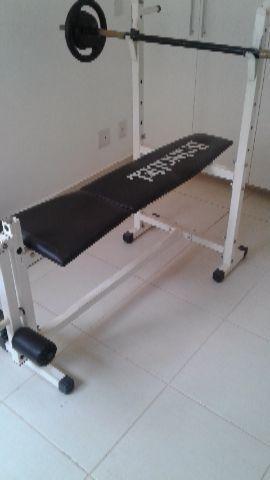 Academia em casa - musculação