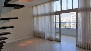 Aluguel apartamento duplex 3 quartos em botafogo