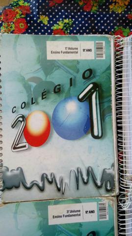 Apostilas editora positvo colégio 2001 9°ano