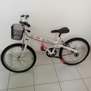 Bicicleta infantil caloi ceci aro 20 com cesta