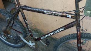 Bicicleta sundown raim drop original inteira aro 26 cambio
