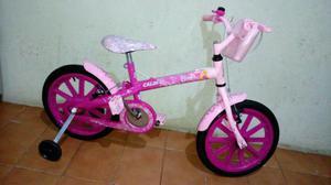 Bicicleta aro 16 caloi barbie praticamente nova